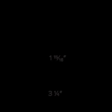 Round Trim Dimensions