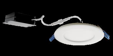 """4"""" Commercial Ultra Slim LED High Lumen Round Panel Light"""