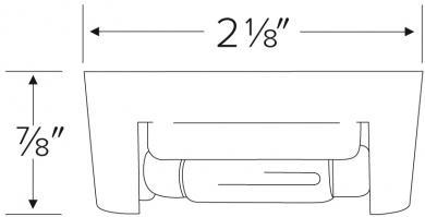 Miniature Track Lights Festoon Base with Adjustable Reflector