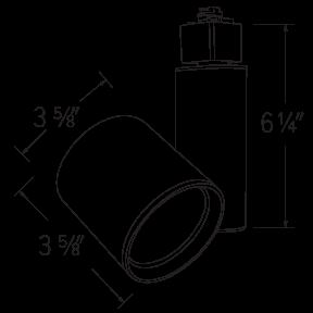 LED Gordian™ (L) Track Fixture
