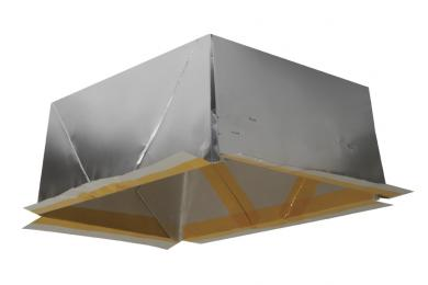 Shallow Flexible Mica Fire Enclosure for recessed fixtures