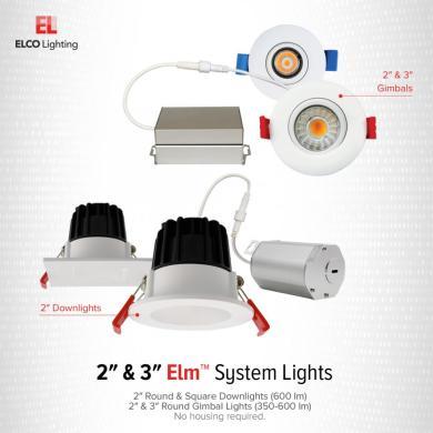 2″ LED Square Baffle