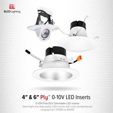 4″ 0-10V LED Inserts