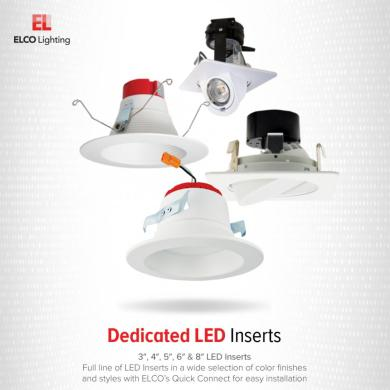 """3"""" Round LED Adjustable Gimbal Insert"""