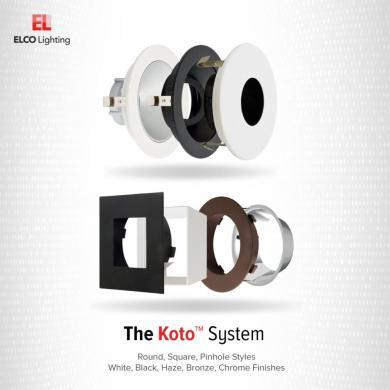 Unique™ 6″ Round Baffle for Koto™ Module