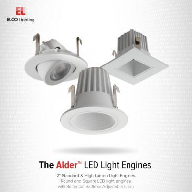 "2"" Square Adjustable LED Light Engines"