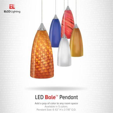 LED Bale™ Glass Pendants