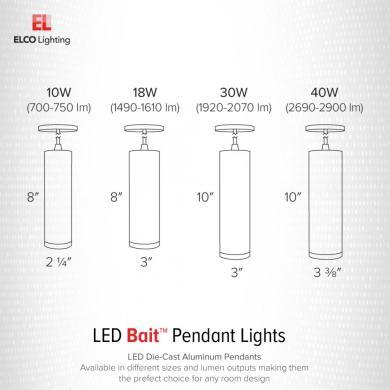 LED Diecast Aluminum Pendant