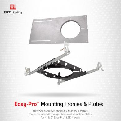 New Construction Square Mounting Plate