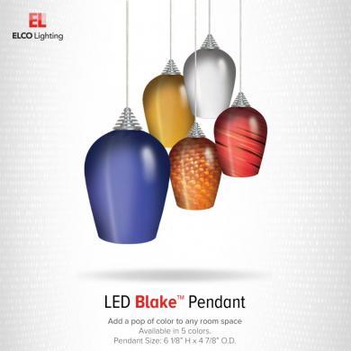 LED Blake™ Glass Pendants