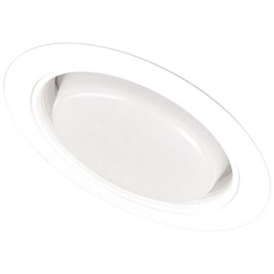 """5"""" Sloped Regressed Drop Opal Lens with Baffle Trim"""