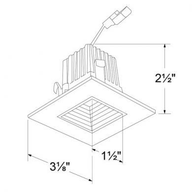 """2"""" Square LED Baffle Light Engines"""
