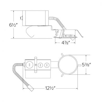 """4"""" Remodel Frame with Driver"""