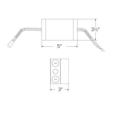"""9"""" LED Retrofit Kit with Driver"""