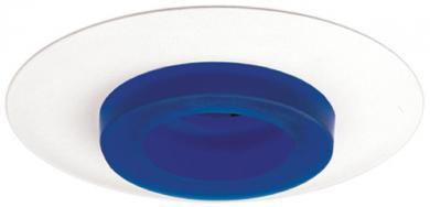 Blue w/White Ring