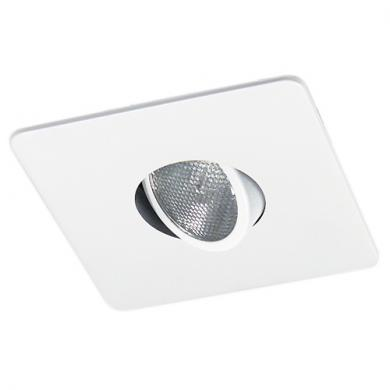 """4"""" Square Trim with Gimbal"""