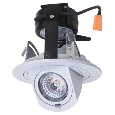 "3"" Round LED Adjustable Pull Down Insert"