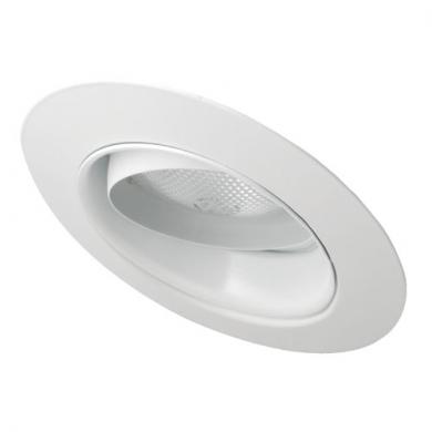 """5"""" Sloped Regressed Eyeball with Reflector Trim"""