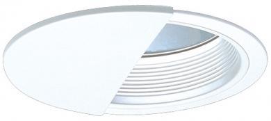 """7"""" Wall Wash Reflector with Baffle Trim"""