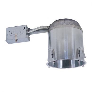 "6"" Airtight Remodel IC Housing with GU24 Base Socket"