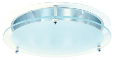"8"" Reflector with Suspended Glass Trim"