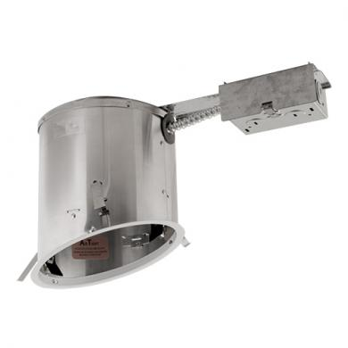 "6"" Sloped Ceiling Medium Base IC Airtight Remodel Housing"