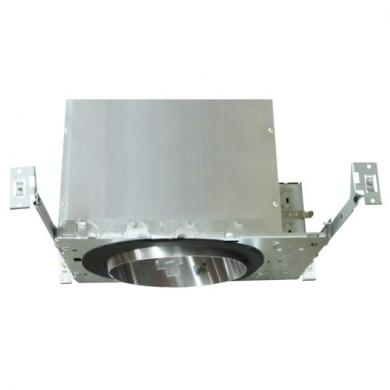 "6"" Sloped Ceiling Medium Base IC Airtight Double Wall New Construction Housing"