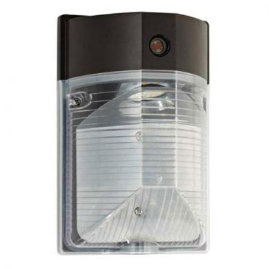 LED Wall Mount with Photocell