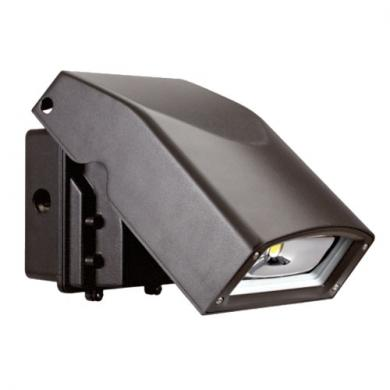 Adjustable LED Wall Pack with Photocell