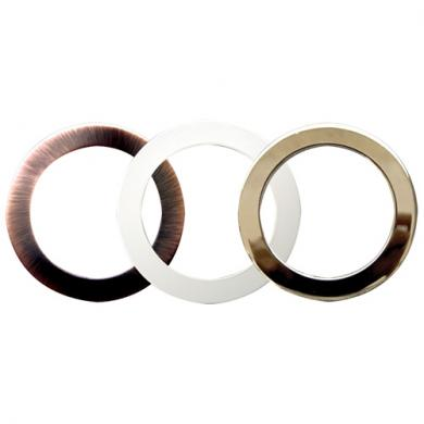 "6"" Metal and Plastic Trim Rings"