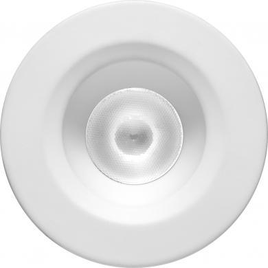 Round White