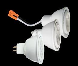 *MR16 Lamp Options:* BiPin GU5.3, GU10 and PSA37